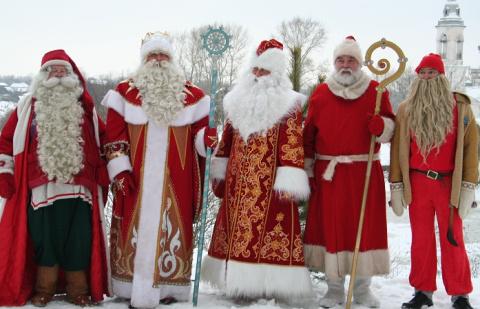 Дед Мороз, Санта Клаус и дру…