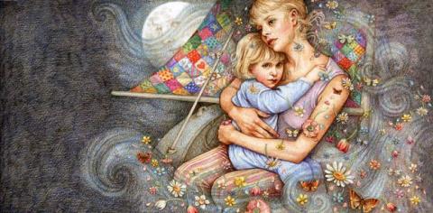 Материнская любовь — это оче…