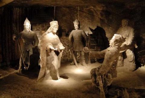 Потрясающая соляная шахта в Польше, ставшая объектом всемирного наследия