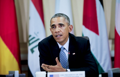 Обама: США продолжат наносить удары по ИГ в сирийском Кобани и в иракской провинции Анбар