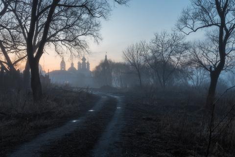 Очарование русских пейзажей в работах Александра Марецкого