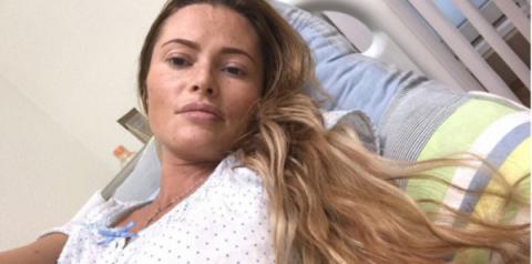 Больничные снимки Даны Борис…