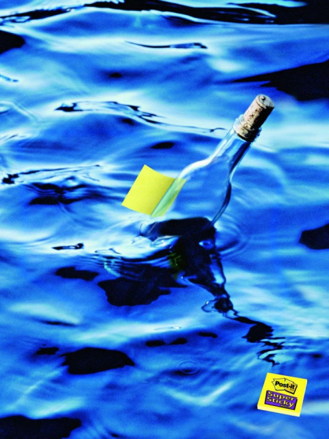 Стикеры изменили подход к письму в бутылке