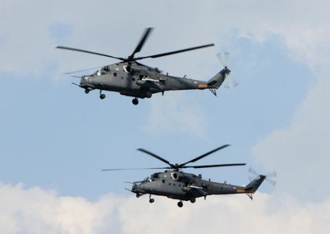 В вертолетный полк ЗВО в Псковской области поступил многоцелевой ударный вертолет Ми-35