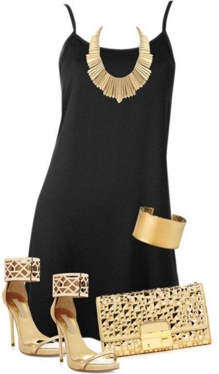 Черное платье: 10 элегантных образов