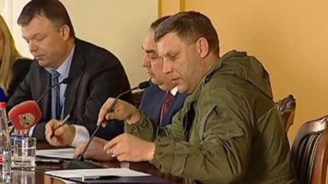 """Захарченко грубо перебил Хуга и сказал, что """"мы никому ничего не должны"""" (Видео)"""