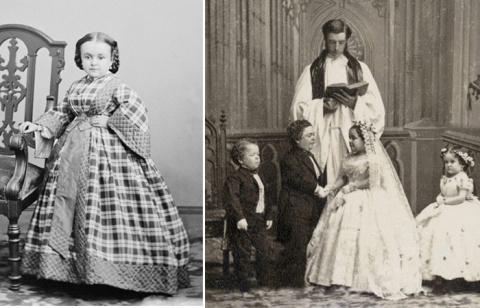 Роскошная свадьба лилипутов в годы гражданской войны в США
