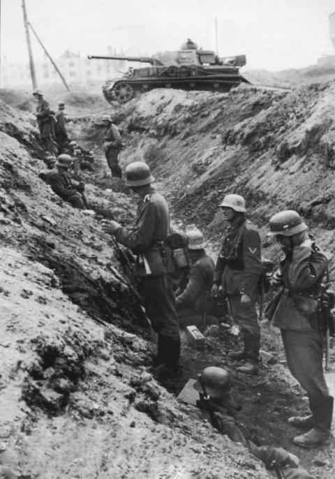 Немецкое командование делало упор на «крайне активную» оборону и «чувство превосходства немецкого солдата над русским»