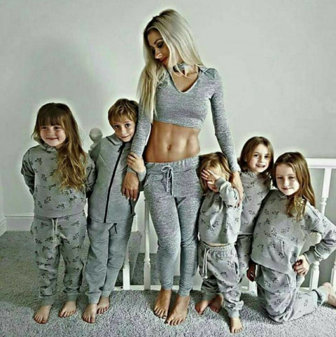 Мать пятерых детей:нет оправдания лишнему весу после беременности