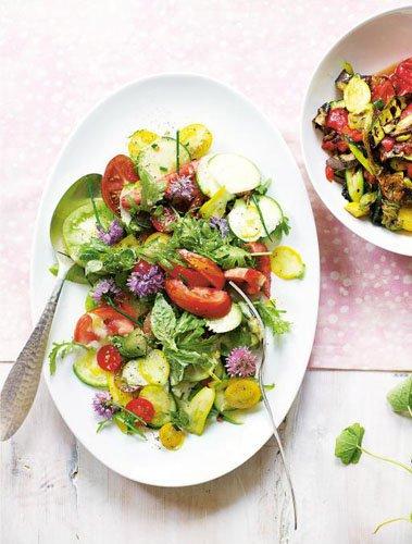 Салаты из овощей. Салат Рататуй  — Рецепты Джейми Оливера