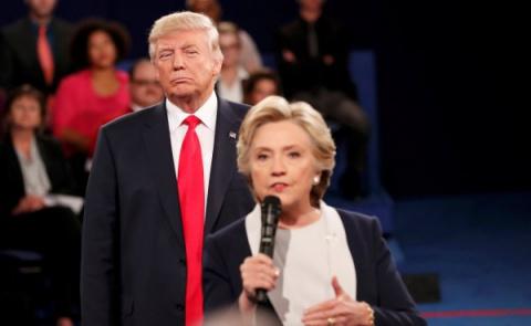 Трамп призвал Клинтон к отве…