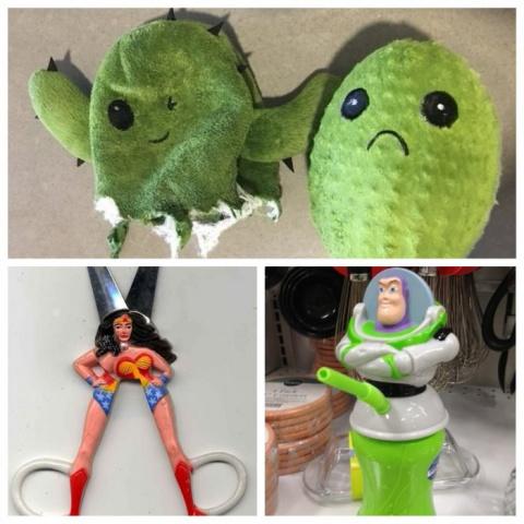 Что употребляли создатели этих игрушек?