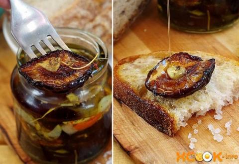 Рецепт приготовления  соленой сливы, вяленой на зиму с чесноком и оливковым маслом