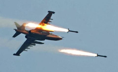 Мощнейший авиаудар ВКС РФ ун…