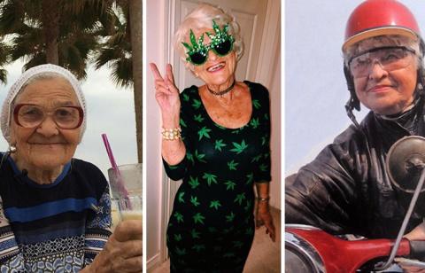 После пенсии жизнь только начинается: 10 самых невероятных бабушек в мире!