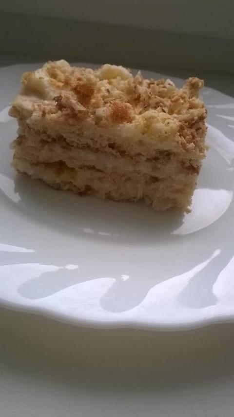 Фасолевый торт «Наполеон»