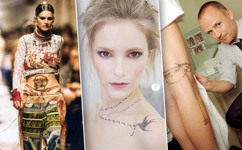 Украшение навсегда: как татуировки превратились в fashion-культ