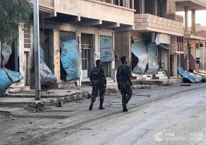 Cирийская армия освободила поселок Каукаб