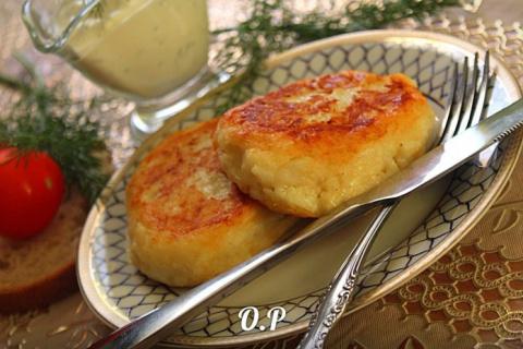 Картофельные котлеты с сыром - вкусно, просто и быстро