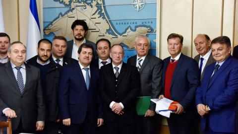 Киев ввел санкции против пос…