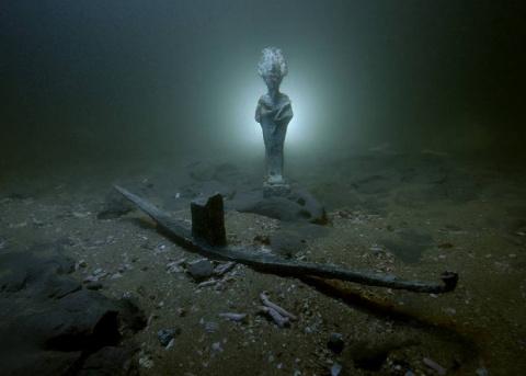 В Египте нашли ритуальную ладью бога Осириса и затонувшие корабли римского периода