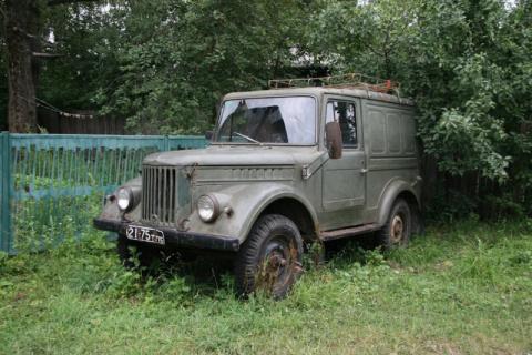 Ручная работа - гибриды из советских машин