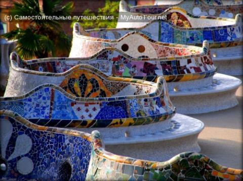Удивительный Парк Гуэля в Барселоне