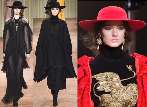 Стильные шляпы на сезон осен…