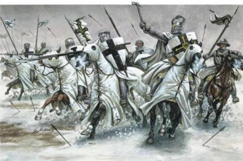 Битва при Сауле: «братья по оружию» - крестоносцы и псковичи