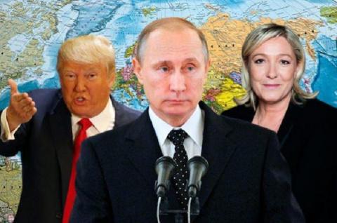 Марин Ле Пен «поймала волну» Трампа