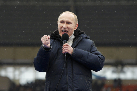 Как Путин отчитывал губернат…