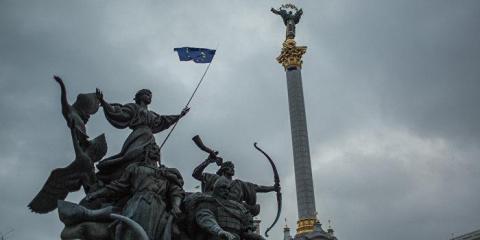 Крик о помощи Киева к Донбас…