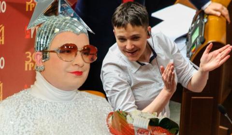 Савченко устроила дикие танц…