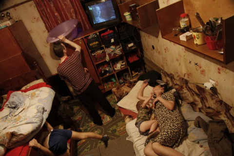Замучила страшная нищета в России