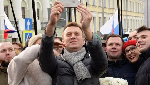Последнее пике Навального