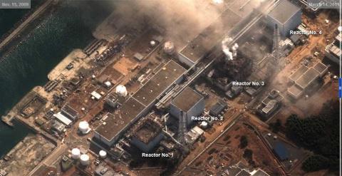 Фотографии Японии из космоса…