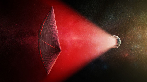 Теория о том, что радиовсплески могли исходить от космических кораблей