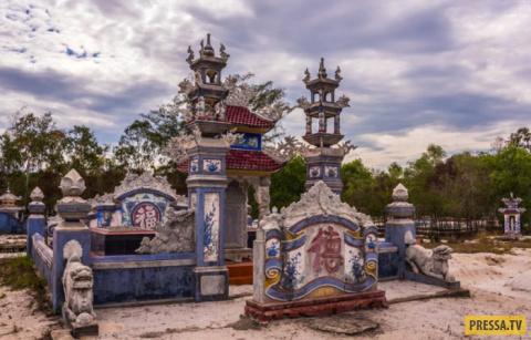 Экзотические кладбища Вьетнама