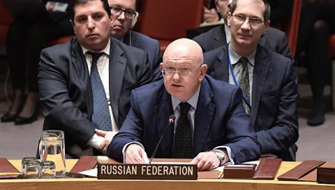 Небензя и Климкин вступили в полемику на заседании Совбеза ООН по КНДР