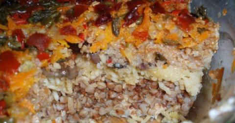Простое, сытное и очень вкусное блюдо для поста — Монастырская каша