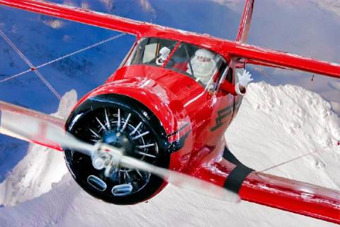 Пилот оригинально поздравил Германию с Рождеством