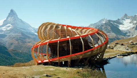 Потрясающая деревянная архитектура