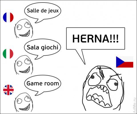 Cуровый чешский язык