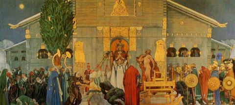 """Скандинавские """"капища"""" и их """"идолы"""""""