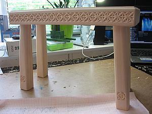 Изготовление деревянной лаво…