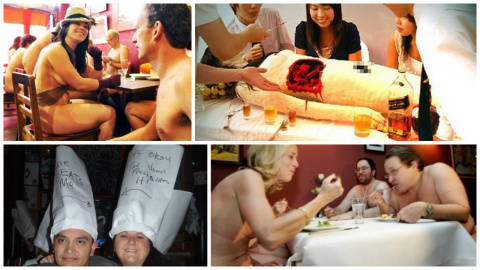 ТОП -7 странных ресторанов, …
