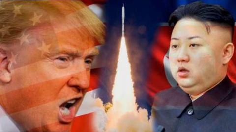 КНДР vs США. Ким обвалит Уолл - Стрит. Ирма в помощь!