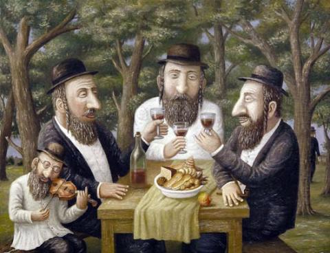 Неунывающие евреи