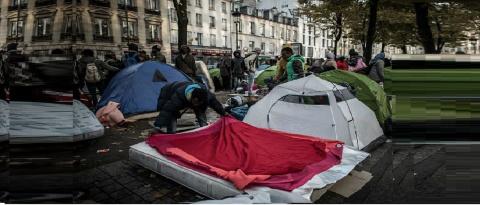 Туристы бегут из «кошмарного» Парижа