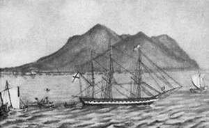 Океанские походы шлюпа «Диана»